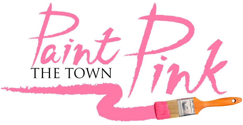 Paink the town pink graphic